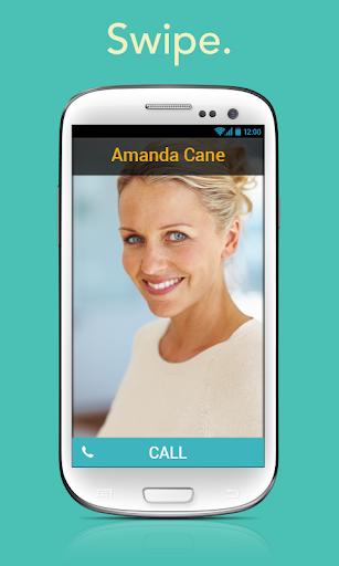 SwipeDial Picture Phone Full