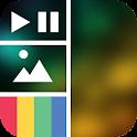 Vidstitch Free - Video Collage icon
