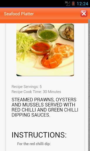 Sea Foods Recipes
