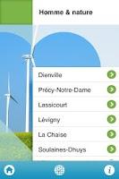 Screenshot of Coeur des lacs de Champagne