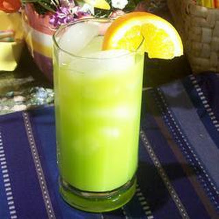 Orange and Melon Cocktail.