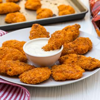 Doritos Crusted Chicken Fingers.