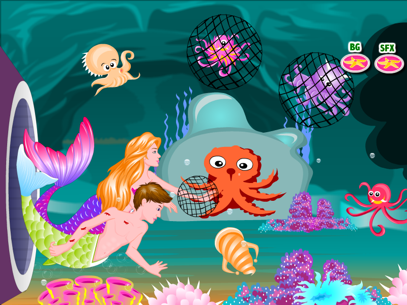 mermaid computer games to play on now