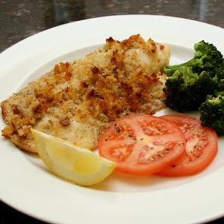 Tilapia With Buttery Crumb Topping