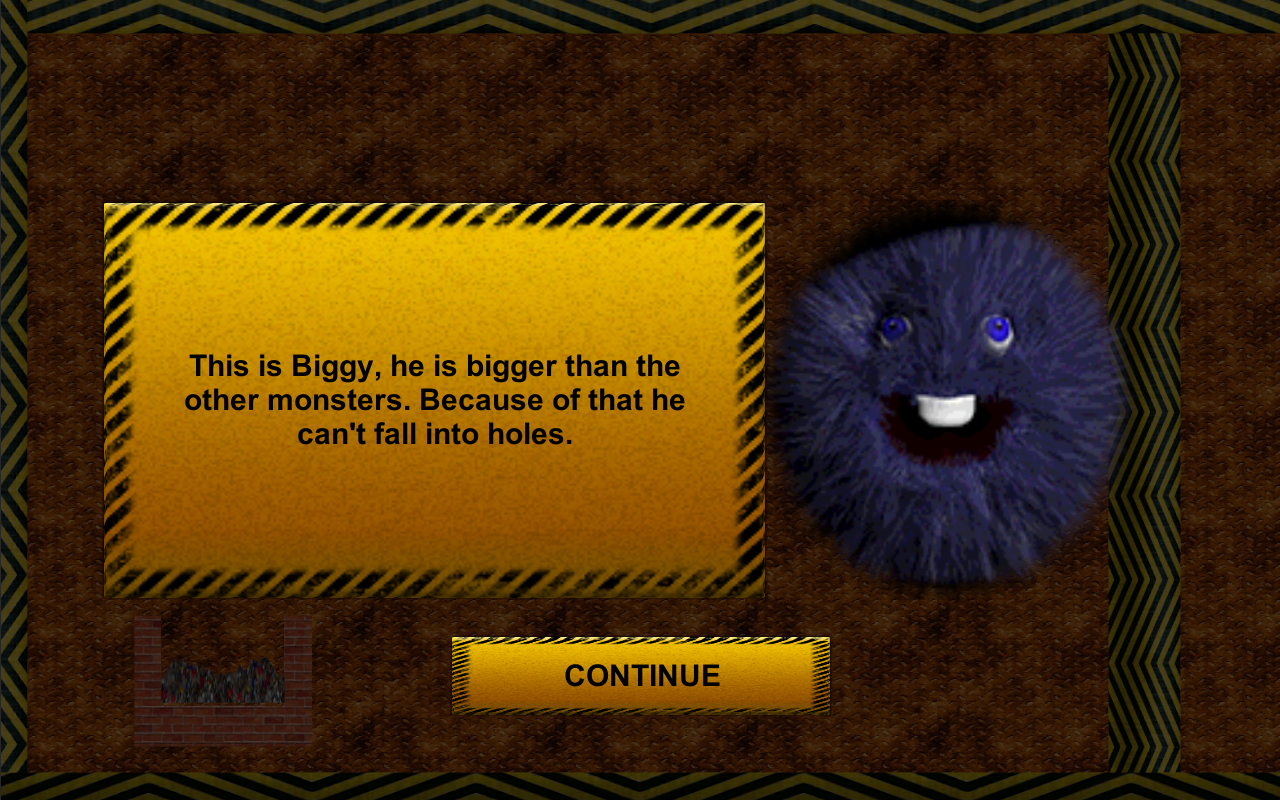 Hungry Monster Balls- screenshot