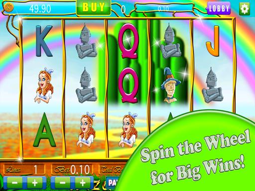 Wizard of Oz Vegas Cash Slots