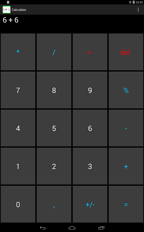 Calculator Free- screenshot