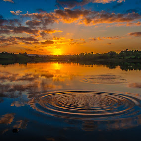 Guladoo Lake Carrigallen by John Greene - Landscapes Sunsets & Sunrises ( lovely leitrim, ireland, guladoo, carrigallen, sunset, scenic, relax, tranquil, relaxing, tranquility )