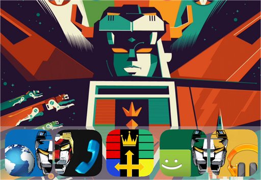 THE Voltron Go Launcher Theme