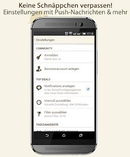MyTopDeals - Schnäppchen App - screenshot thumbnail