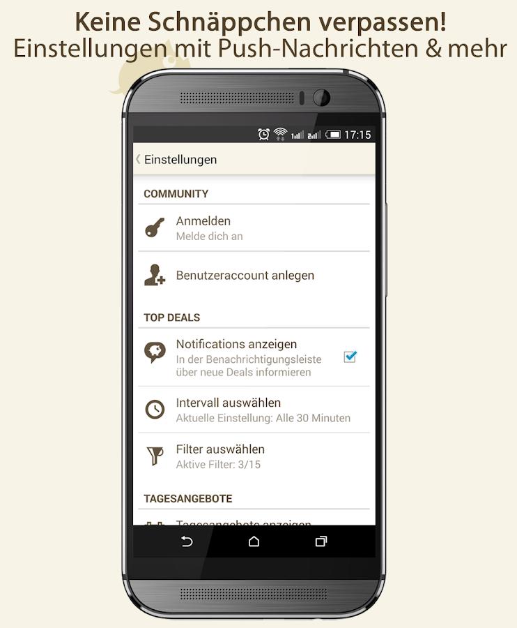 MyTopDeals - Schnäppchen App - screenshot