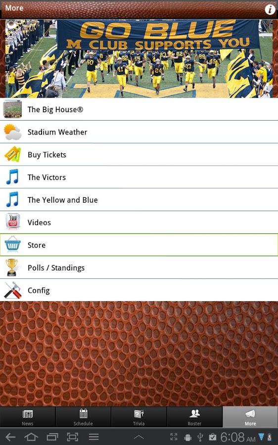 Michigan Wolverines Football- screenshot