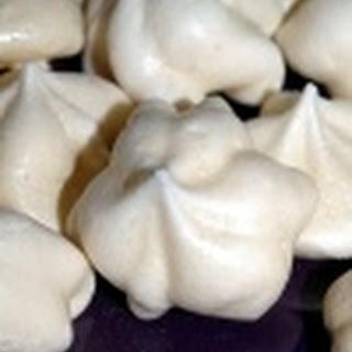 Vanilla Bean Meringue Cookies.