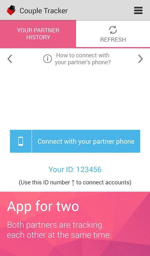 Couple Tracker - Phone monitor - screenshot