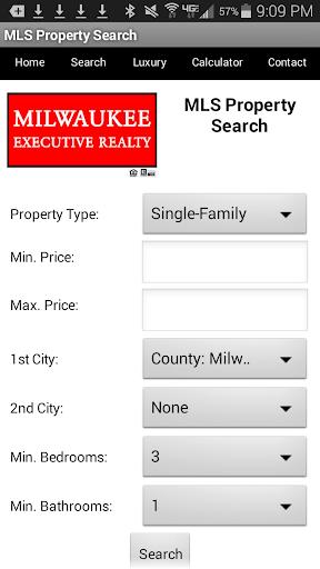 Milwaukee Real Estate Search 1.4 screenshots 2