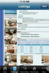 Pensacola Beach Properties- screenshot thumbnail