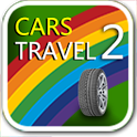 Car's travel 2 games for baby icon