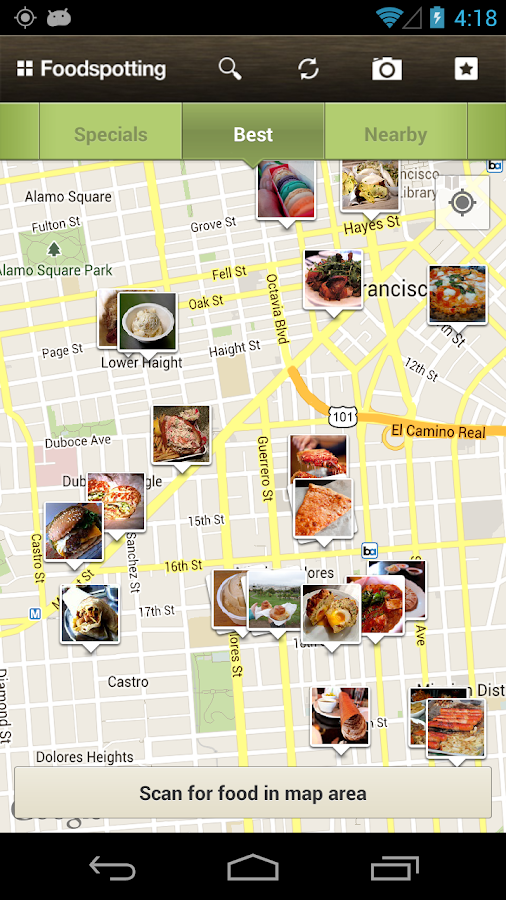 Foodspotting- screenshot