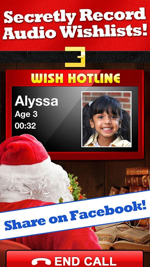 Santa's Magic Phone Call &Text- screenshot