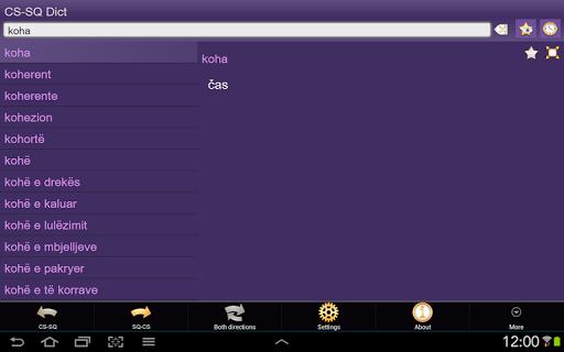 玩書籍App|Czech Albanian dictionary +免費|APP試玩