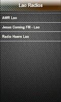 Screenshot of Lao Radio Lao Radios