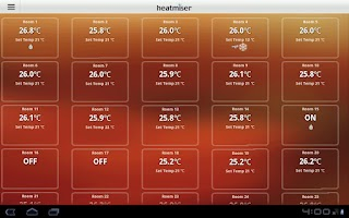 Screenshot of Heatmiser