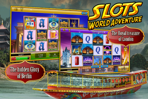 Slot Machines World Adventure - screenshot