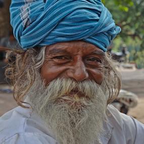 Inner smile-2 by Kaushik Dolui - People Portraits of Men
