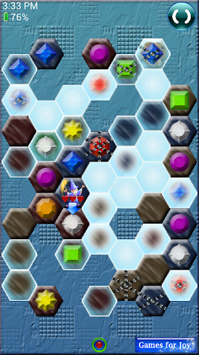 Jewels Hexagon Match 3