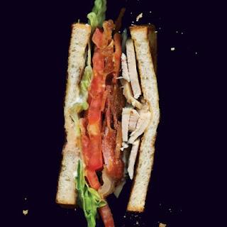 Turkey BLT Sandwich.
