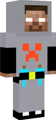 caçador herobrine nova skin