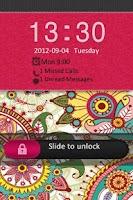 Screenshot of Cute Pink Vera Inspired Theme