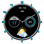 Super Clock Widget