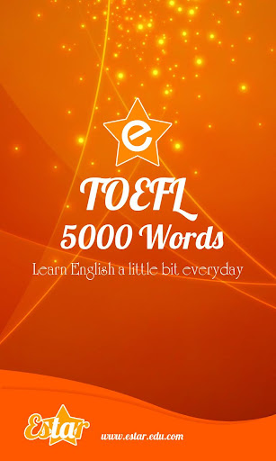 TOEFL Words
