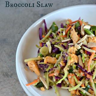Asian Quinoa Broccoli Slaw.