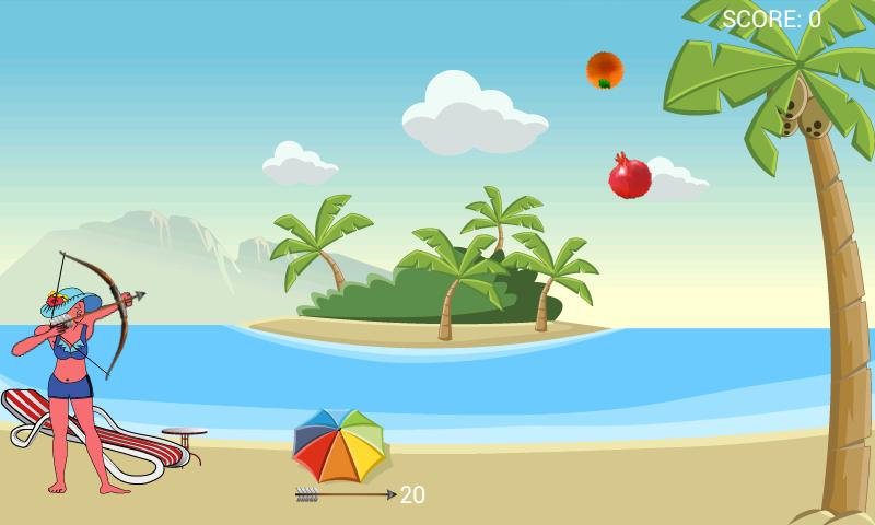 Fruit Archery II- screenshot