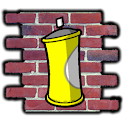 Spray The Wall 3D logo
