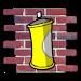 Spray The Wall 3D Icon