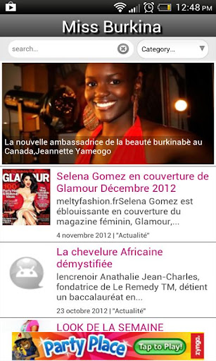 Miss Burkina Magazine V0