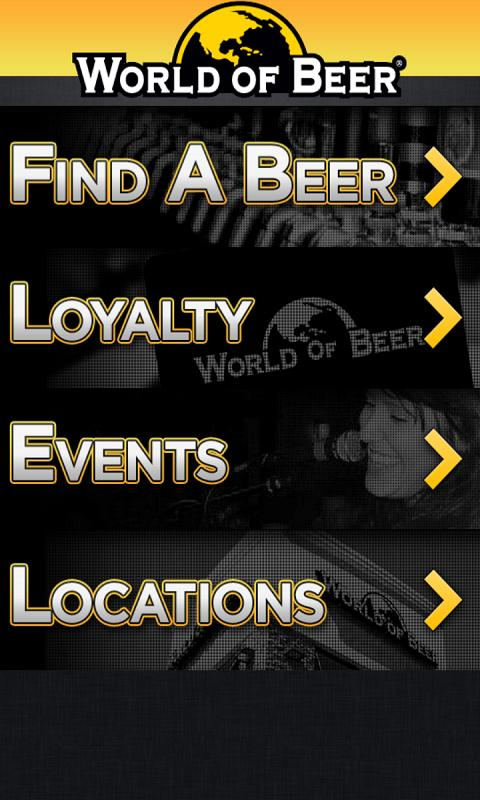 World of Beer Mobile - screenshot
