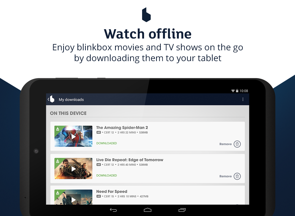 blinkbox - Watch movies & TV - screenshot