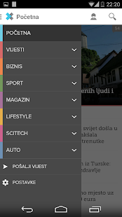 Klix.ba - screenshot thumbnail