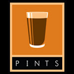 Logo of Pints Rip Saw Red