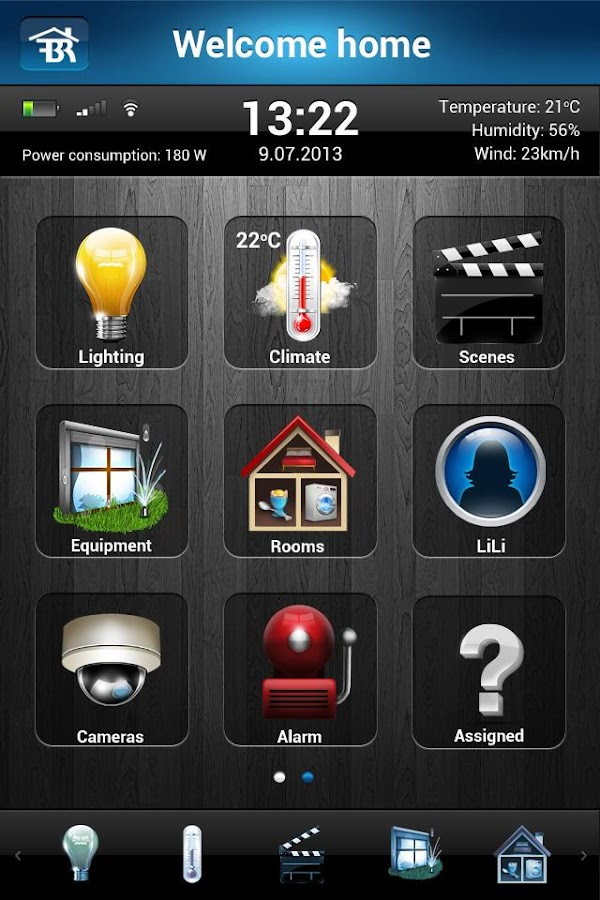 FIBARO - screenshot