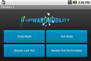 Screenshot of NBPME Podiatry II Exam Prep