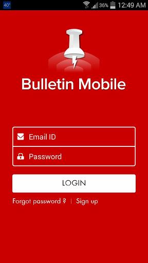 Bulletin Mobile