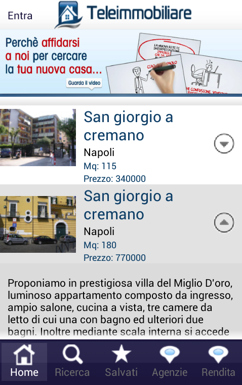 Immobiliare case Italia- screenshot