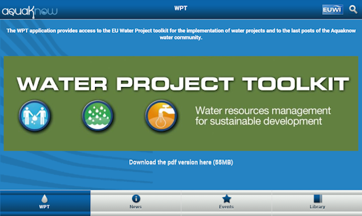 Water Project Toolkit- screenshot thumbnail