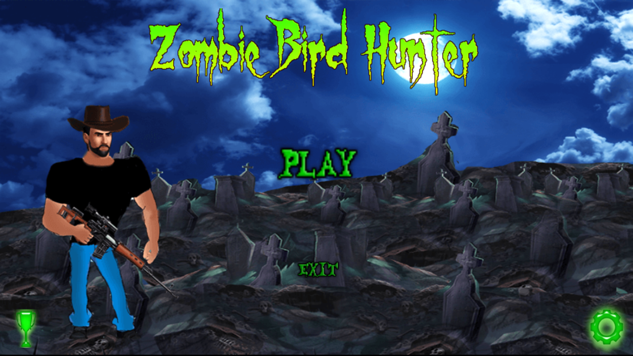 Zombie Bird Hunter- screenshot