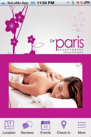 De Paris Beauty & Body - screenshot